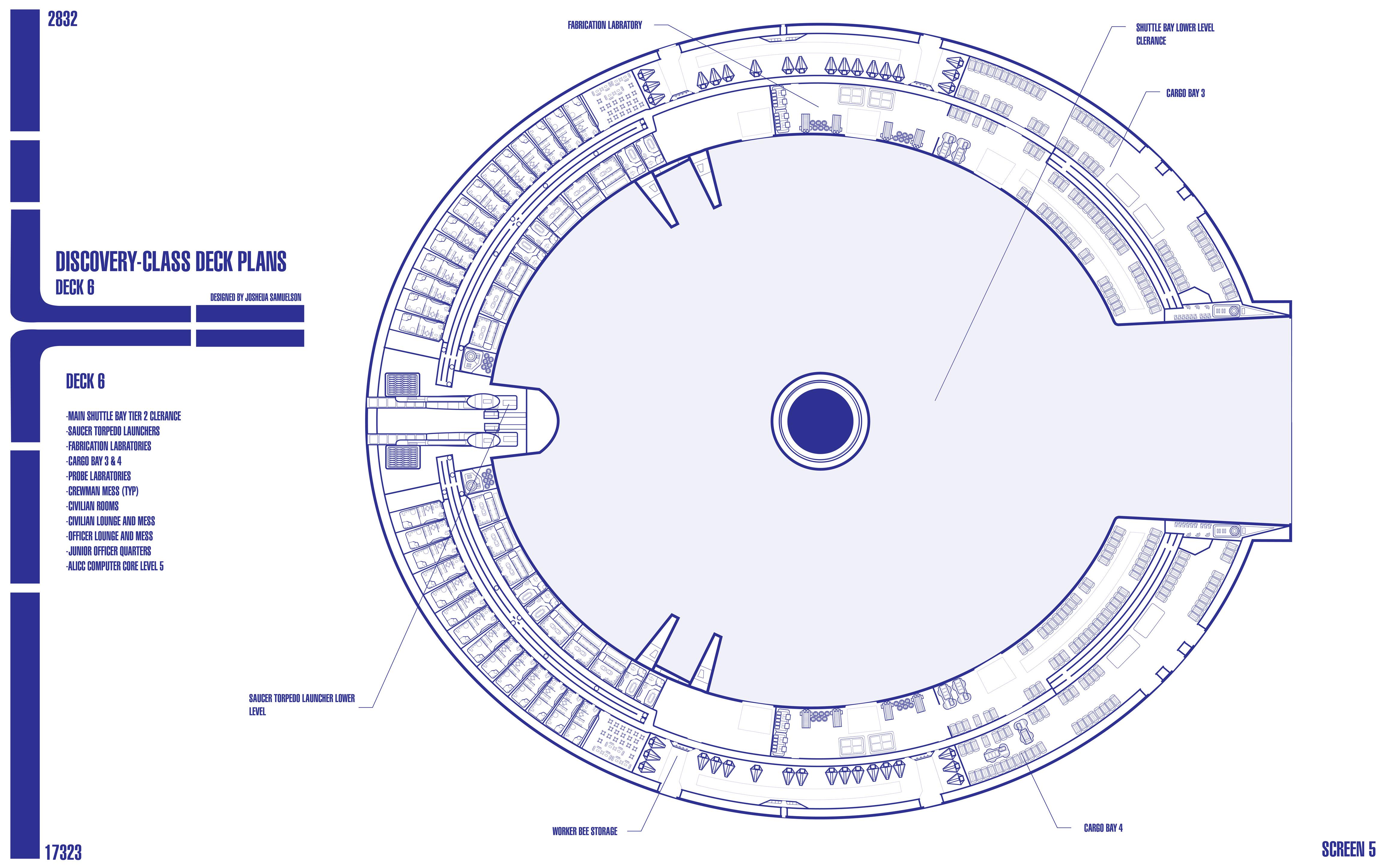 Discovery class starship blueprints u s s odyssey ncc for Deck blueprints online