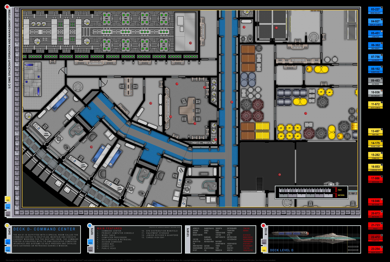 Perfect Enterprise NX 01 Deck Plans