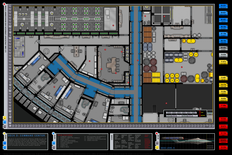 NX-01 Deck Plans