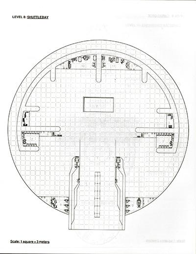 Star Trek Blueprints Fasa Regula 1 Orbital Station Deckplans