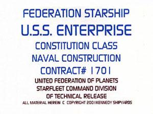 Star Trek Blueprint Database