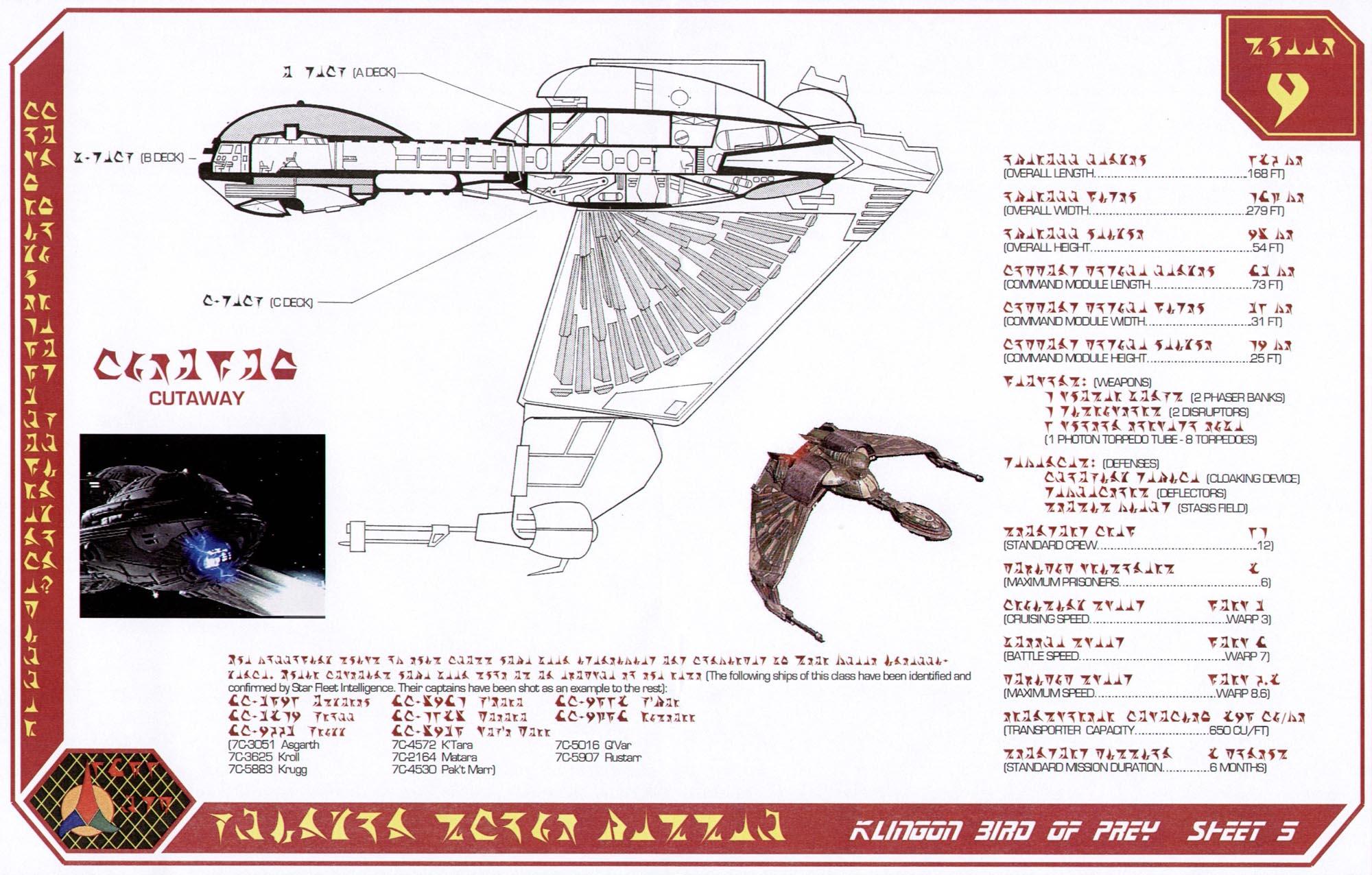 [Jeu] Association d'images - Page 5 Klingon-bird-of-prey-sheet-5