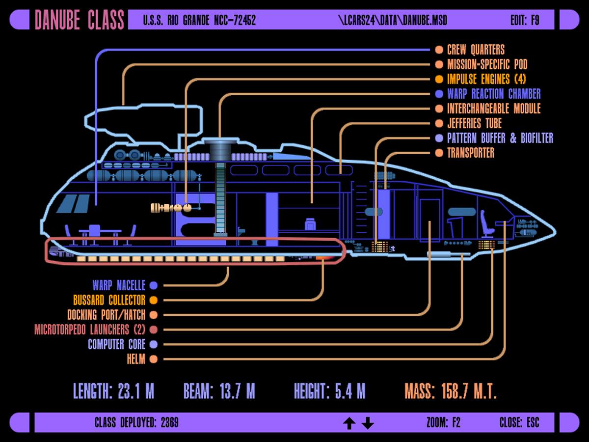Star Trek Blueprints: LCARS 24 Schematics Star Schematics on
