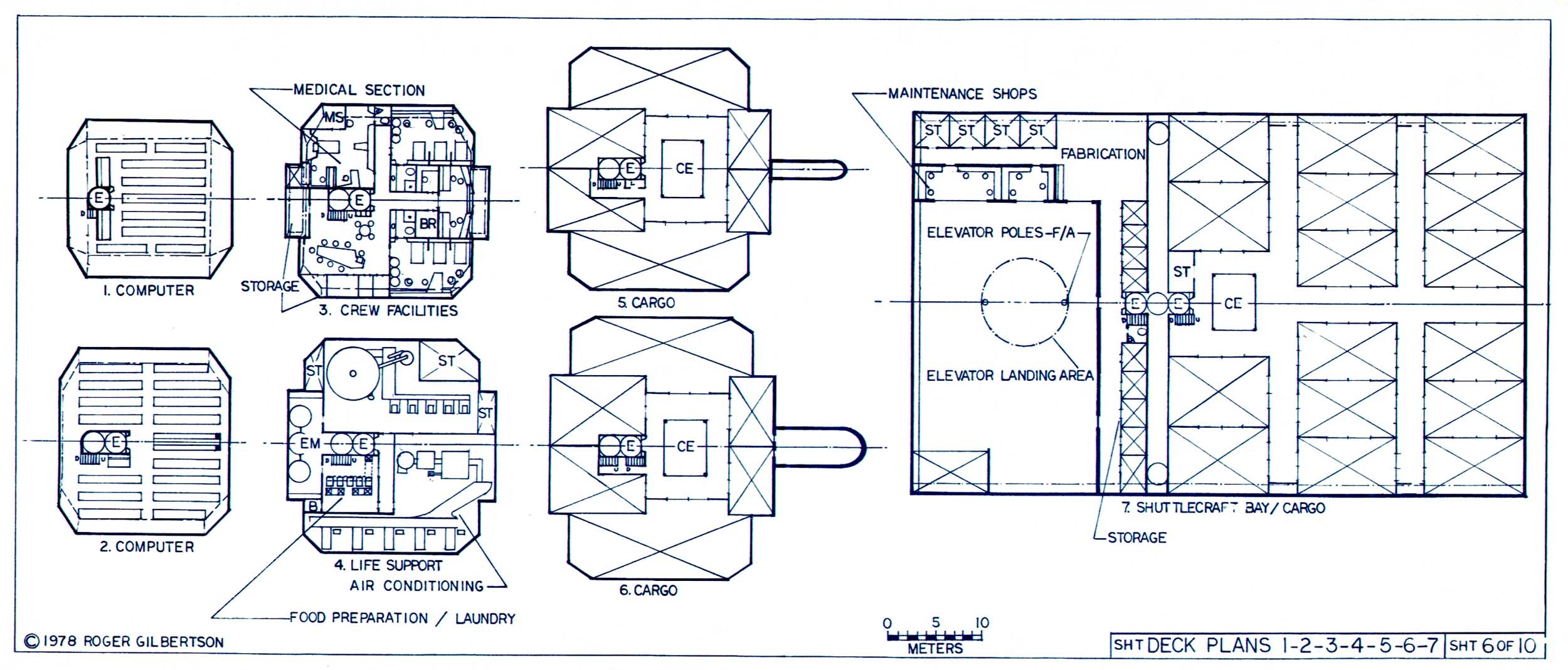 space container ship deck plan - photo #28