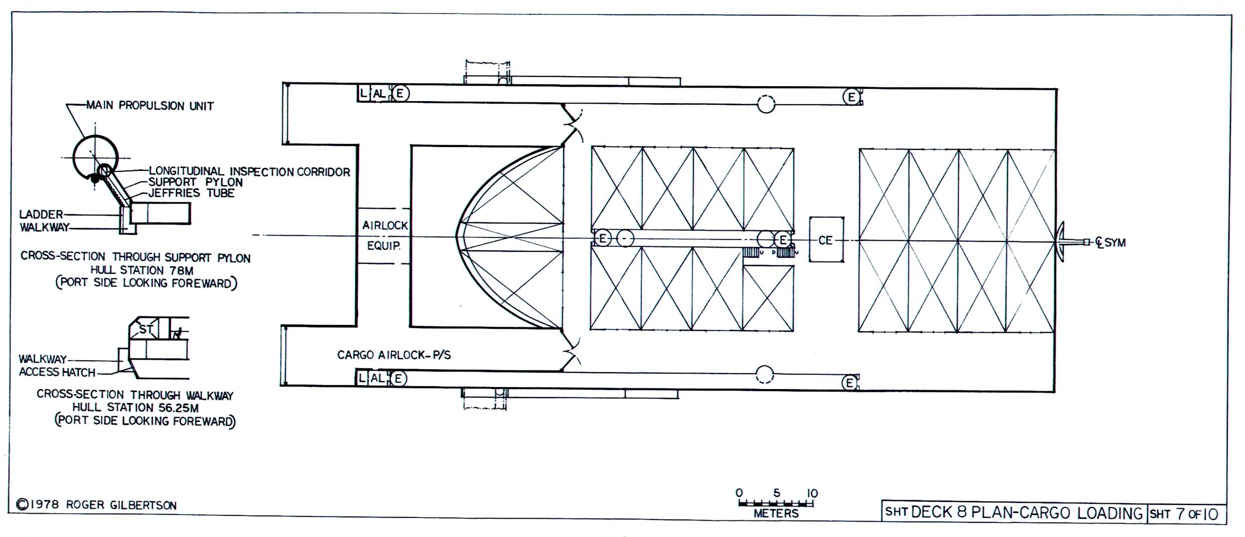 space container ship deck plan - photo #13