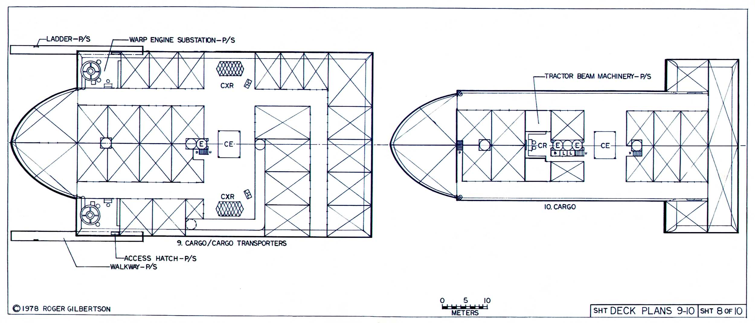 space container ship deck plan - photo #17