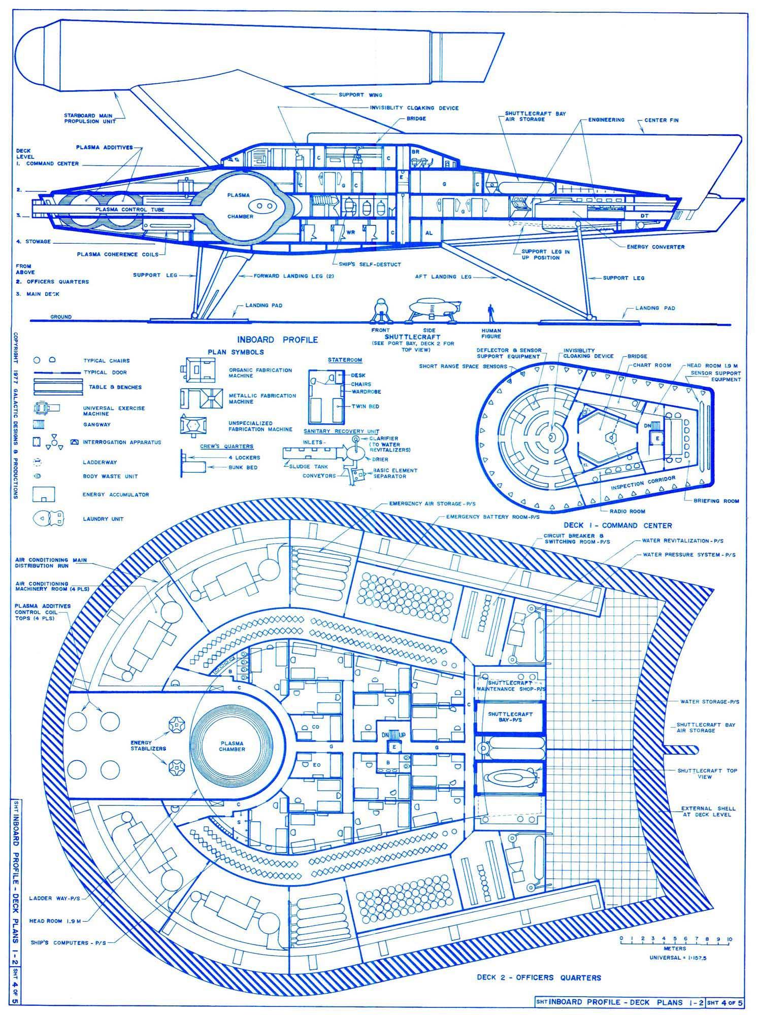 Star Trek Blueprints: Romulan \