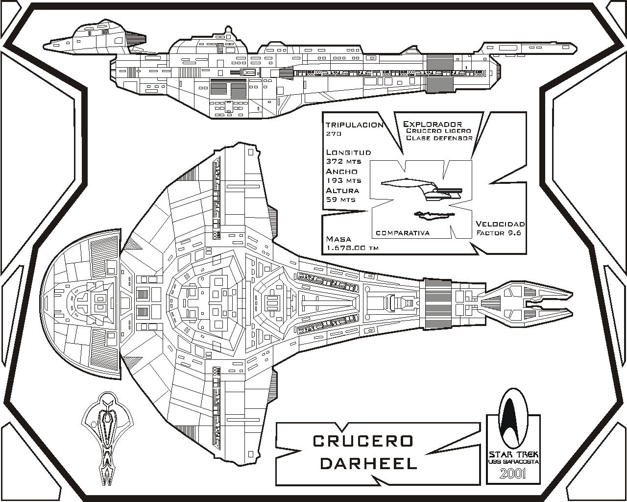 star trek blueprints u s s enterprise ncc 1701a deck plans