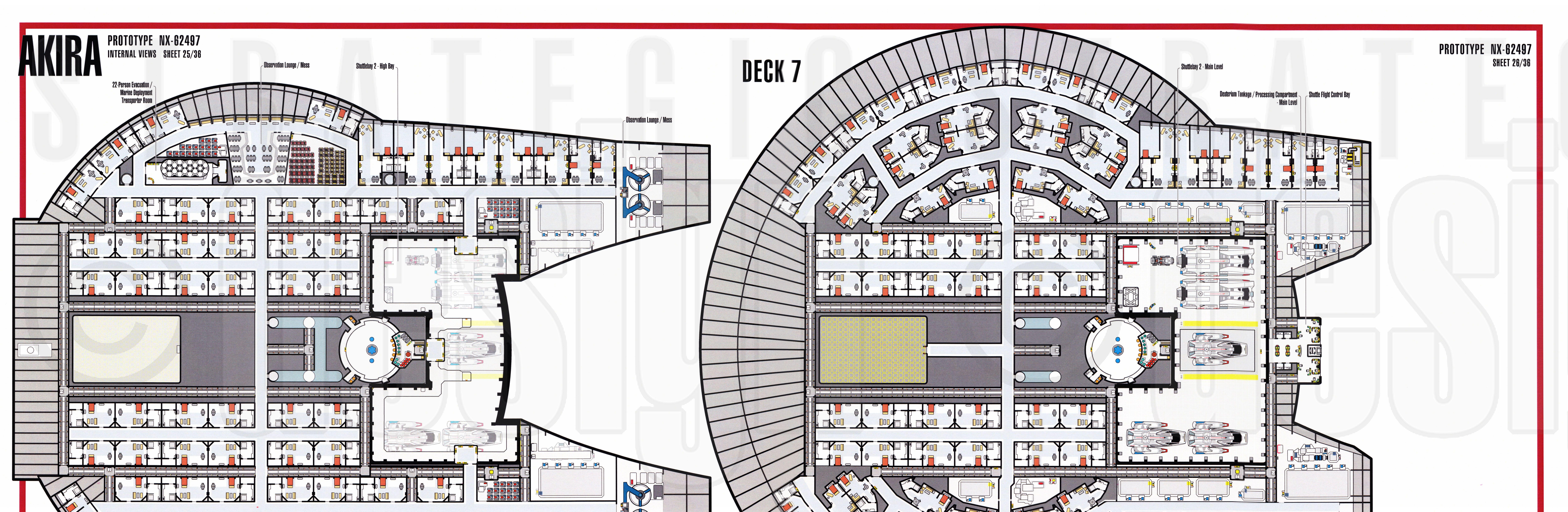 Photo Ncc 1701 Deck Plans Images Patio Rocking Chairs