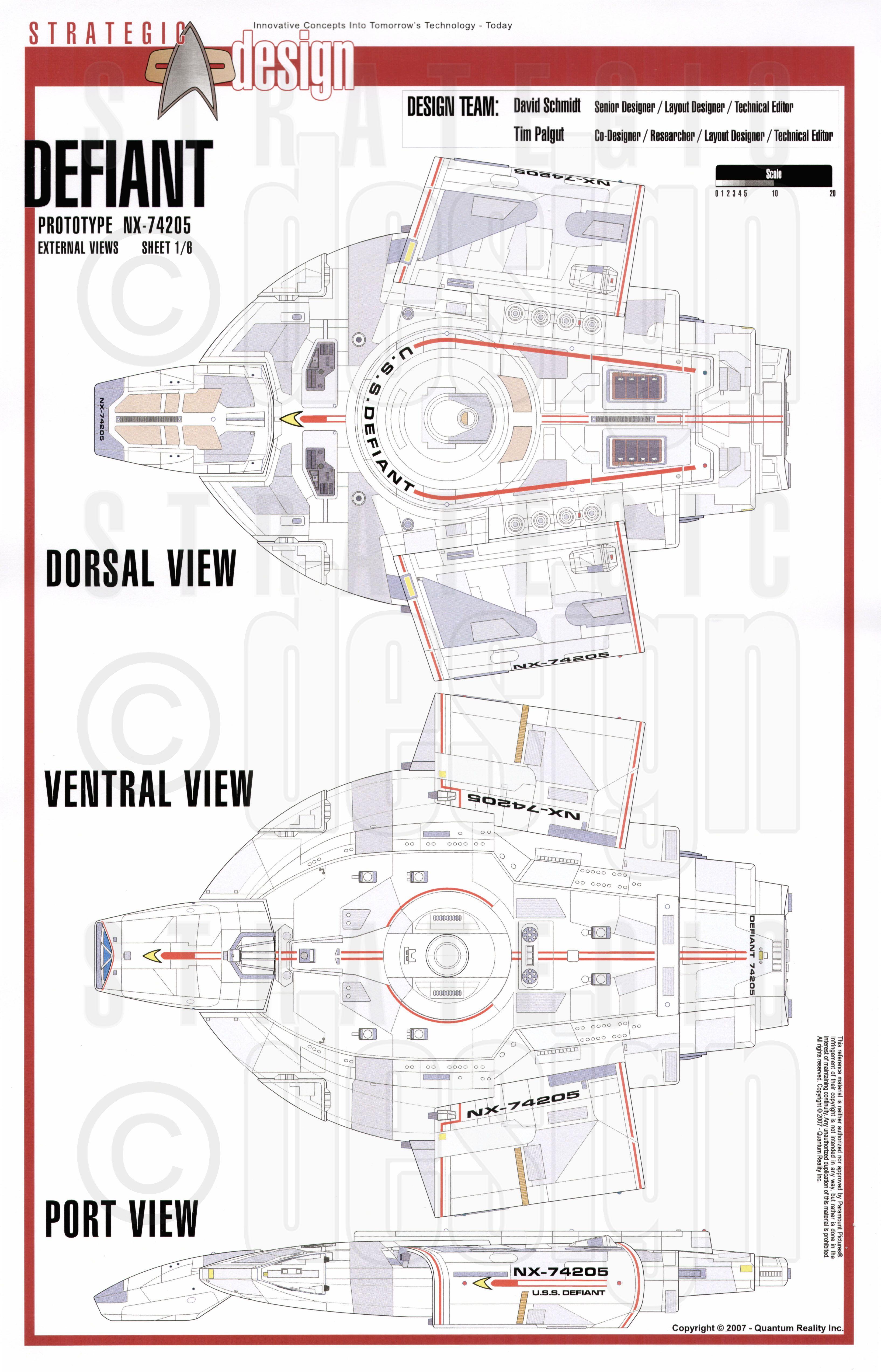 Star Trek Blueprints: Defiant Cl NX-74205 Starship Prototype Uss Defiant Schematics on runabout schematics, uss reliant schematics, deep space nine schematics, uss titan schematics, uss diligent, millennium falcon schematics, uss equinox, uss voyager, star trek ship schematics, uss excalibur, uss reliant deck plans, uss yamaguchi, uss lst schematic, uss vengeance star trek, uss valiant schematics, uss prometheus, uss enterprise, space station schematics, uss excelsior, delta flyer schematics,