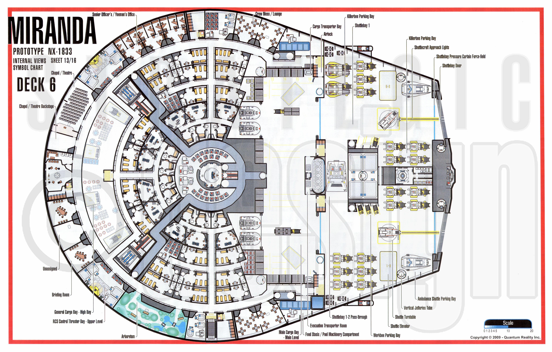 Miranda Class NX 1833 Starship Prototype