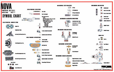 Star trek blueprints u s s nova nx 73515 for Blueprints and plans for hvac pdf
