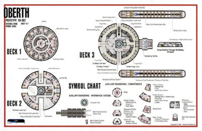Star Trek Blueprints Oberth Class Nx 602 Starship Prototype Rh Cygnus X1  Net Starship Deck Plans And Schematics Oberth Class Deck 11