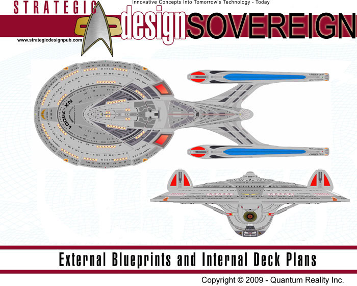 Star Trek Blueprints: U.S.S. Sovereign NX-74001