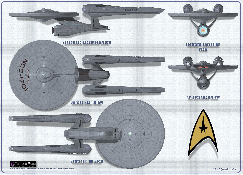 Star Trek Blueprints: Darren R. Sexton's Star Trek Schematics