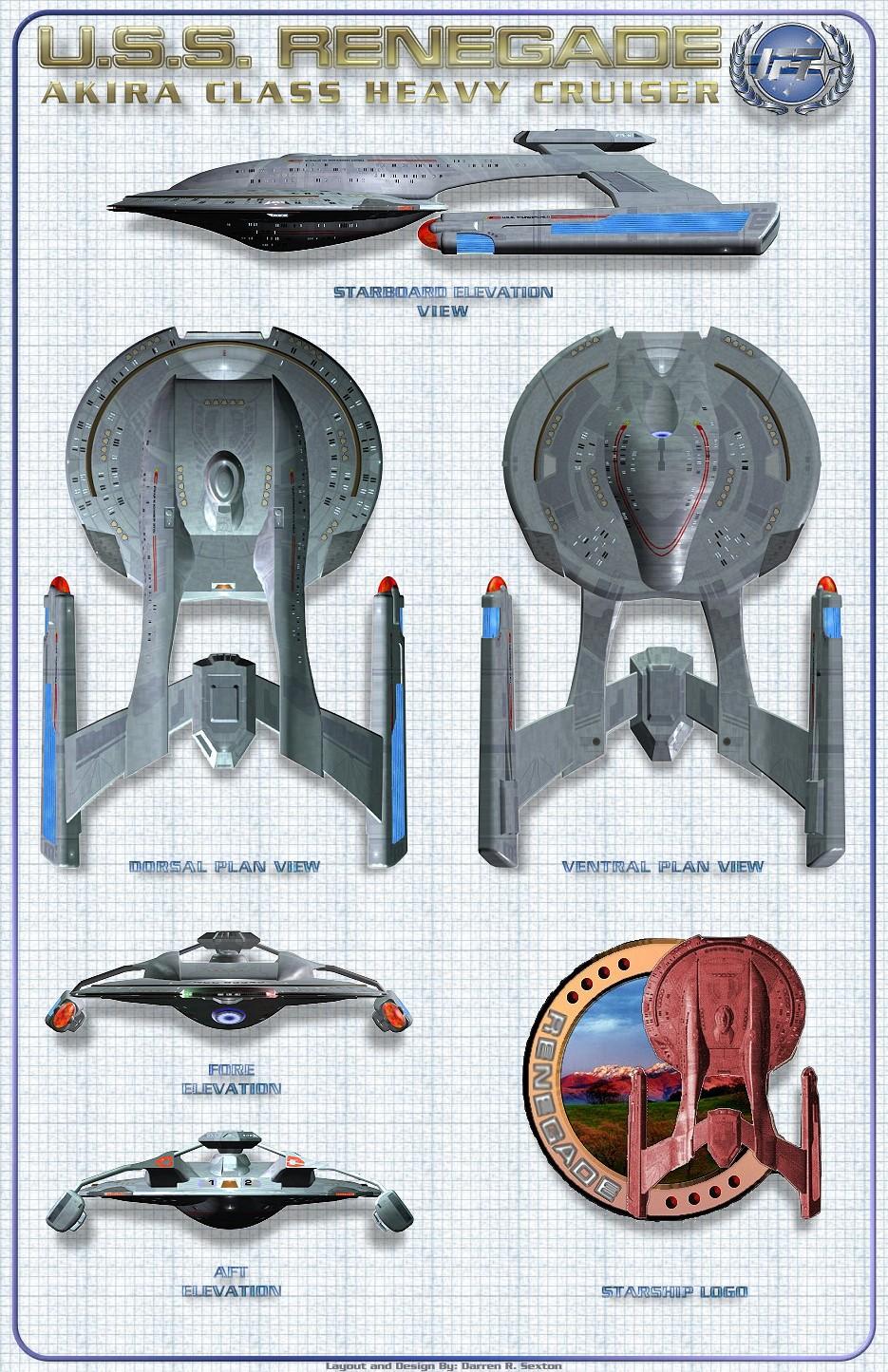 Star Trek Blueprints Darren R Sexton S Star Trek Schematics