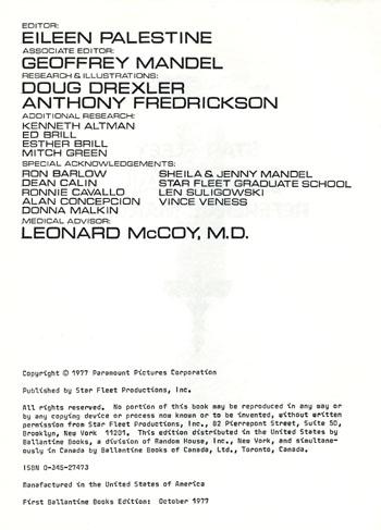 Starfleet Medical Reference Manual Pdf