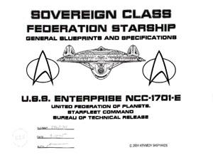enterprise d vector graphic