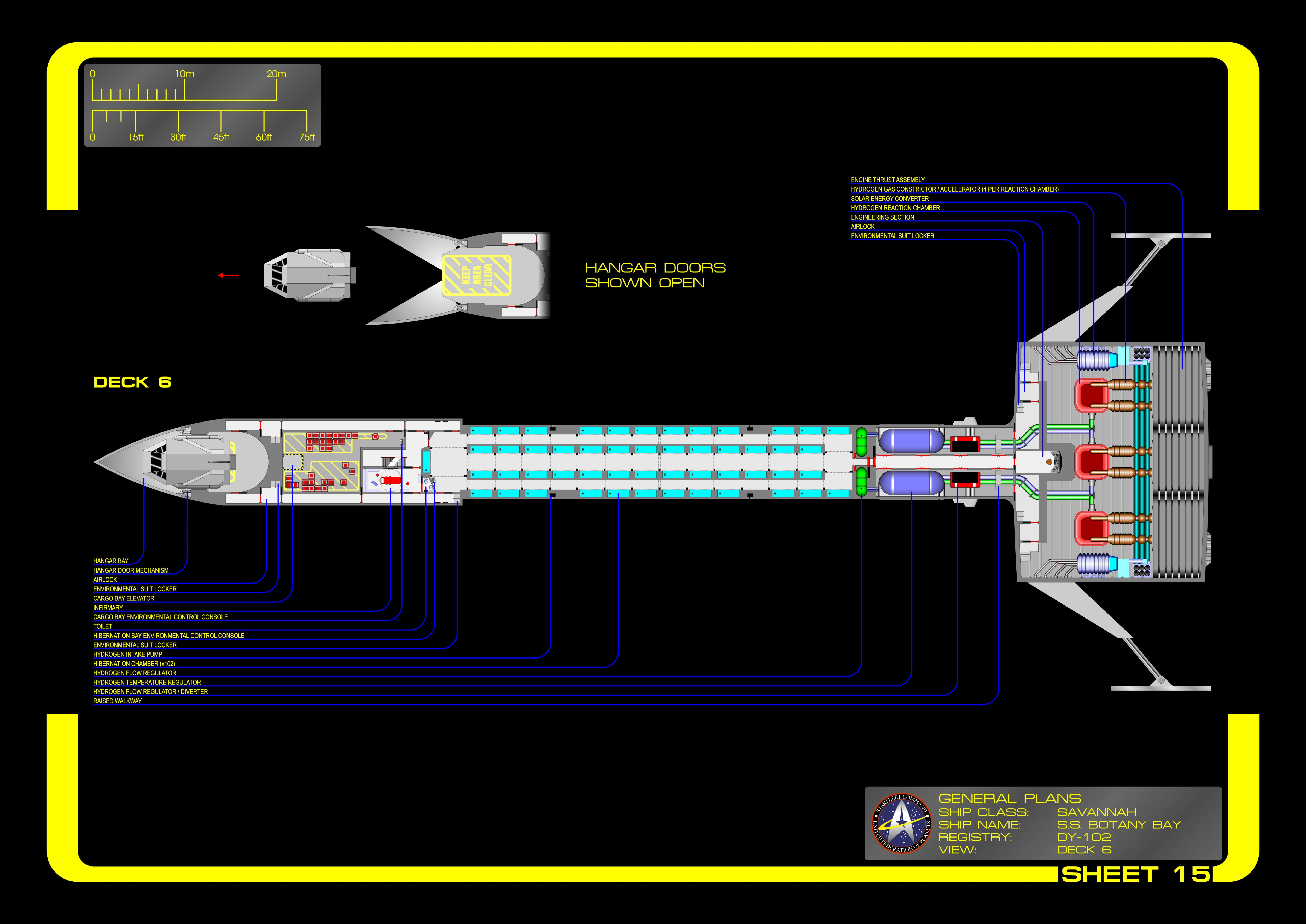 ss-botany-bay-sheet-15 Nor Schematic on