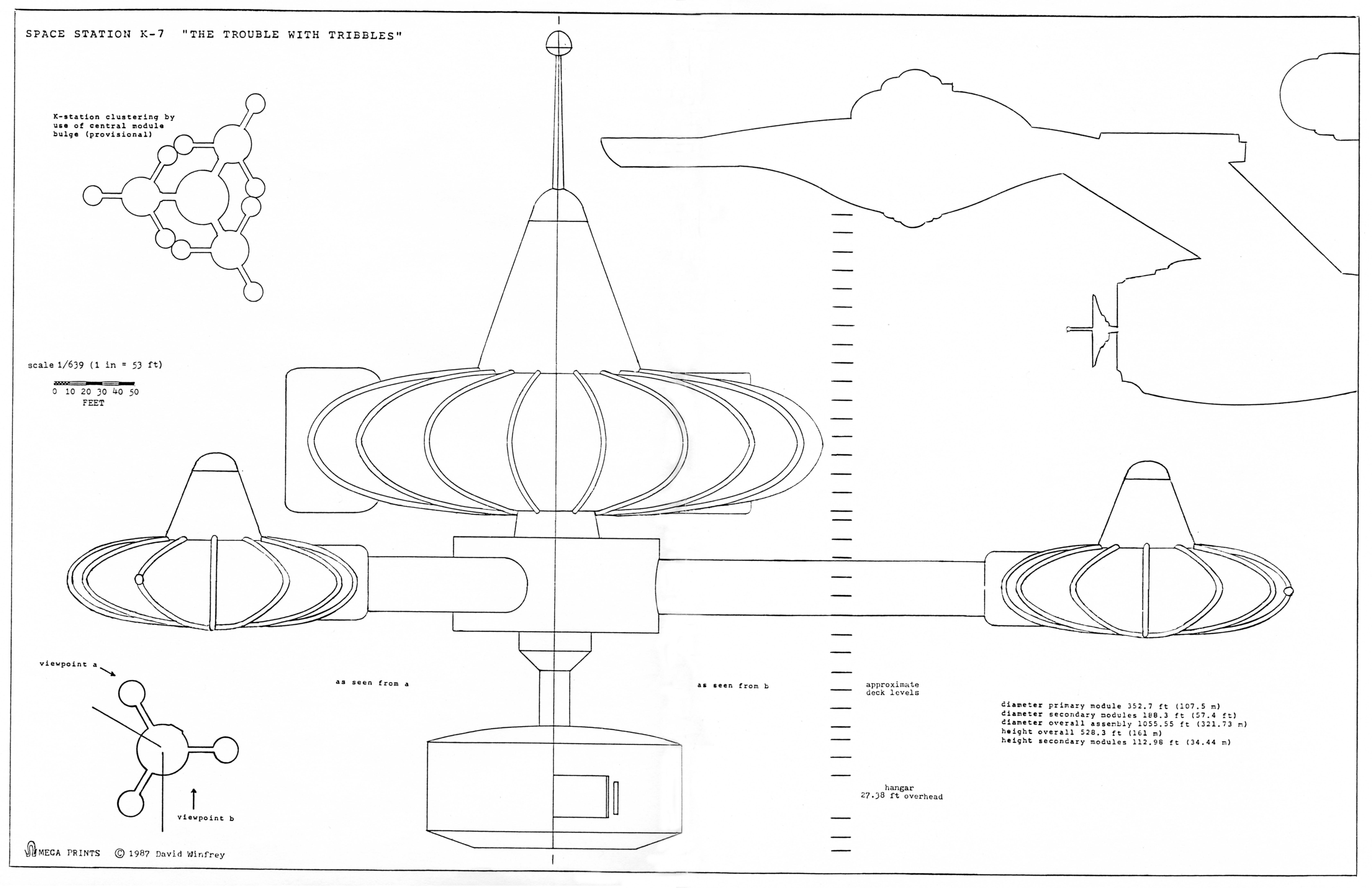 Star Trek Modeler's Blueprints - Set One