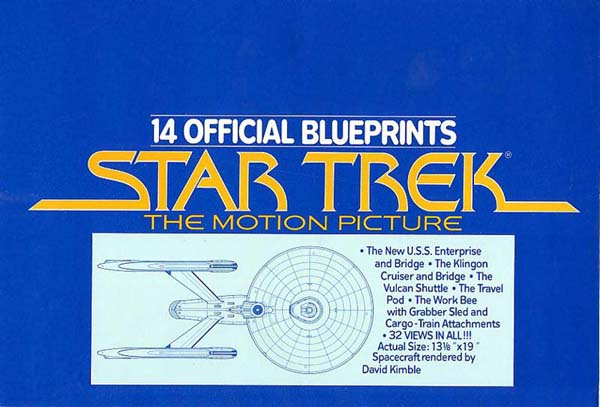 Star trek the motion picture official blueprints malvernweather Images