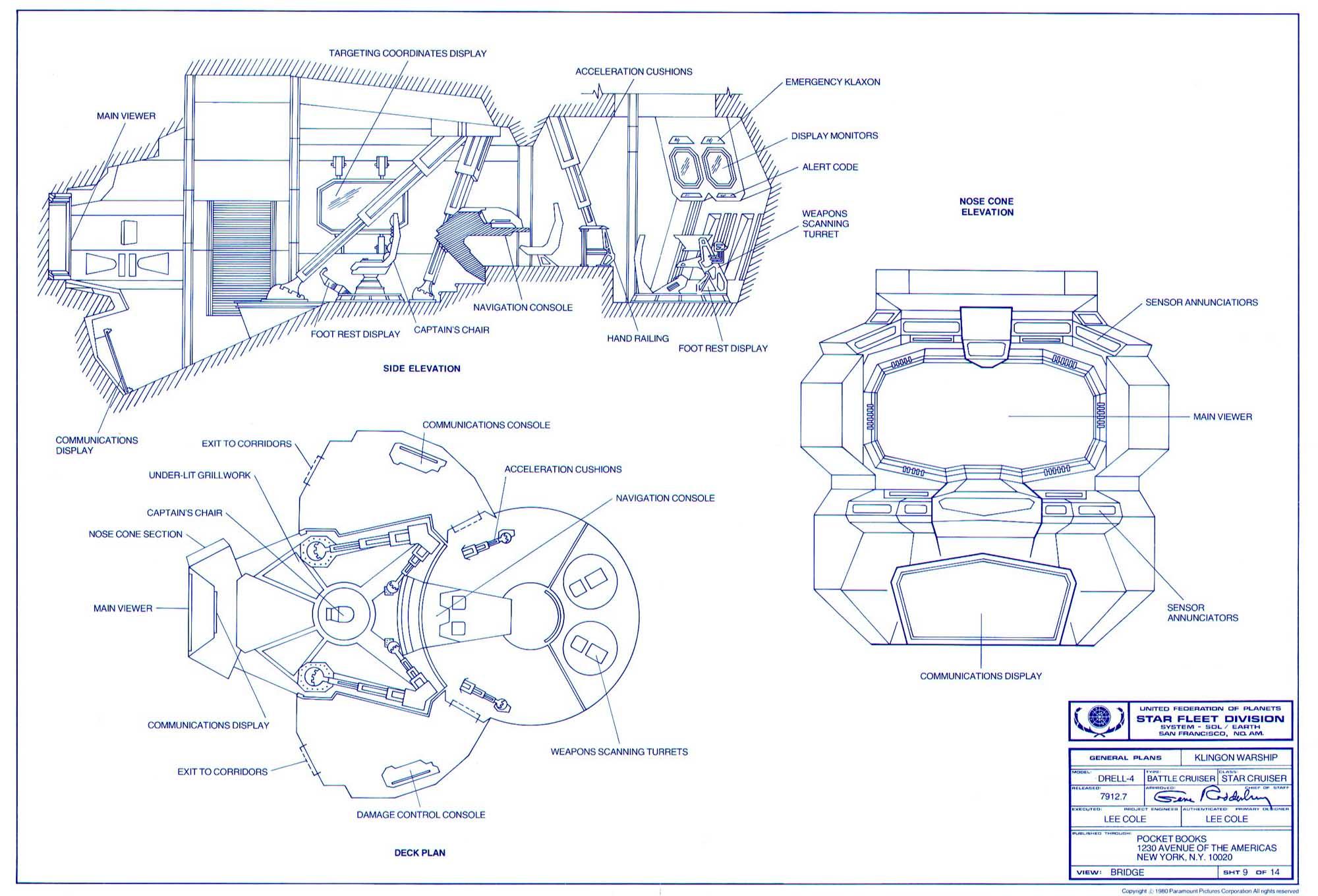 Cargo Ship Blueprint : Trek lcars blueprint database general plans mk xii robot