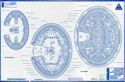 Star Trek: The Blueprints: U.S.S. Enterprise ... on