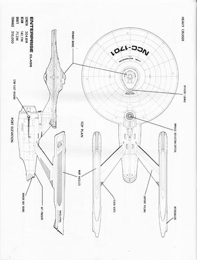 Star Trek Data Schematic