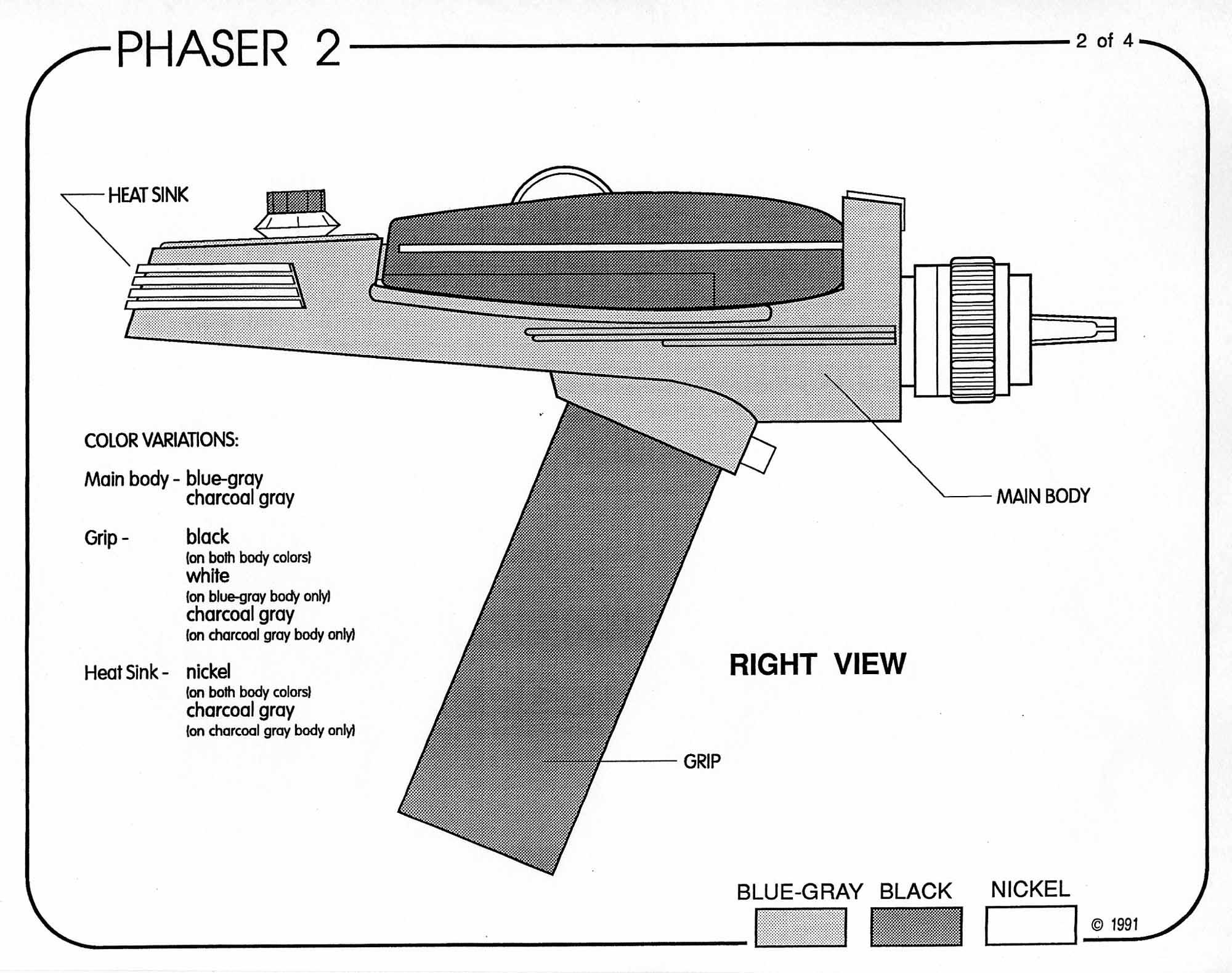 Star Trek Blueprints Uss Enterprise Equipment Packet