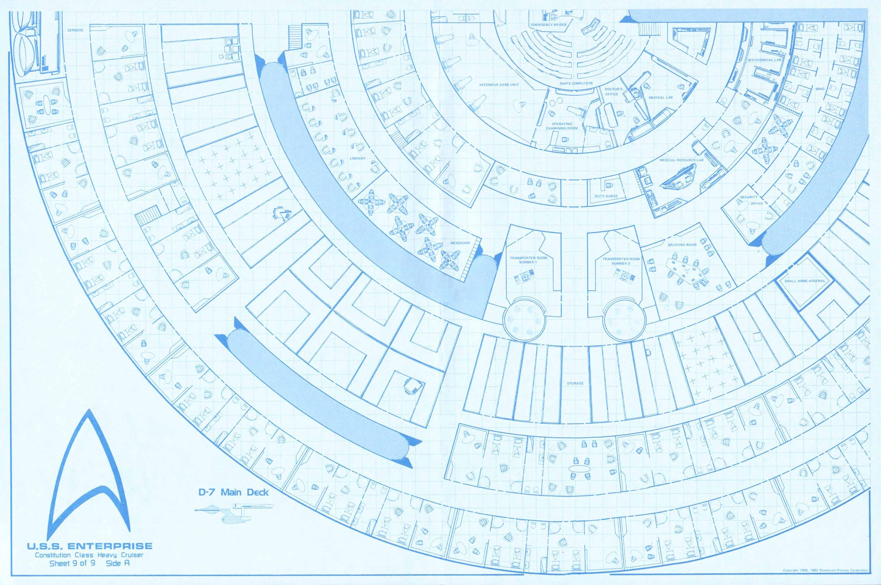 Star Trek Enterprise Floor Plans - Carpet Vidalondon