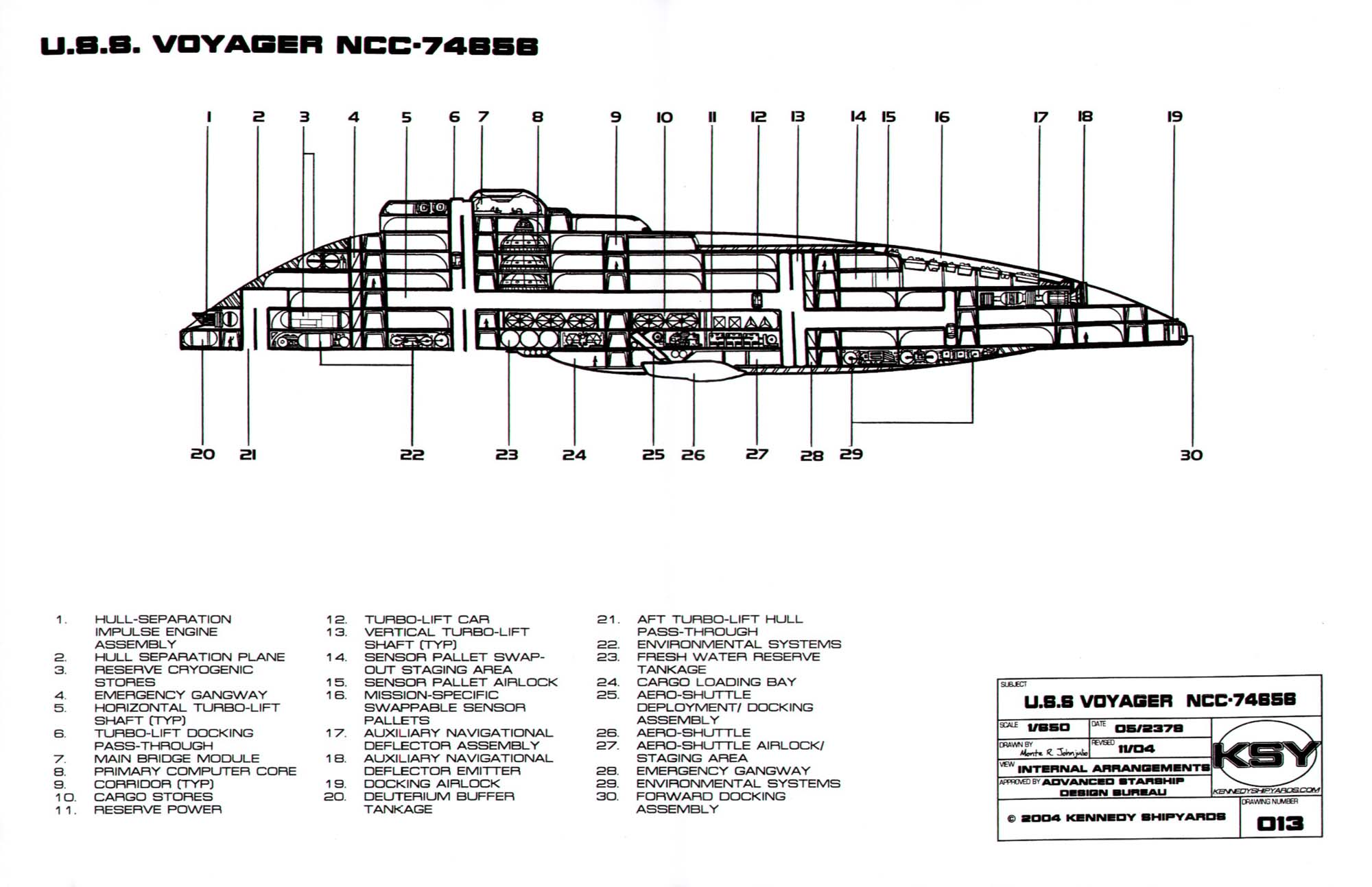 Voyager Schematic on