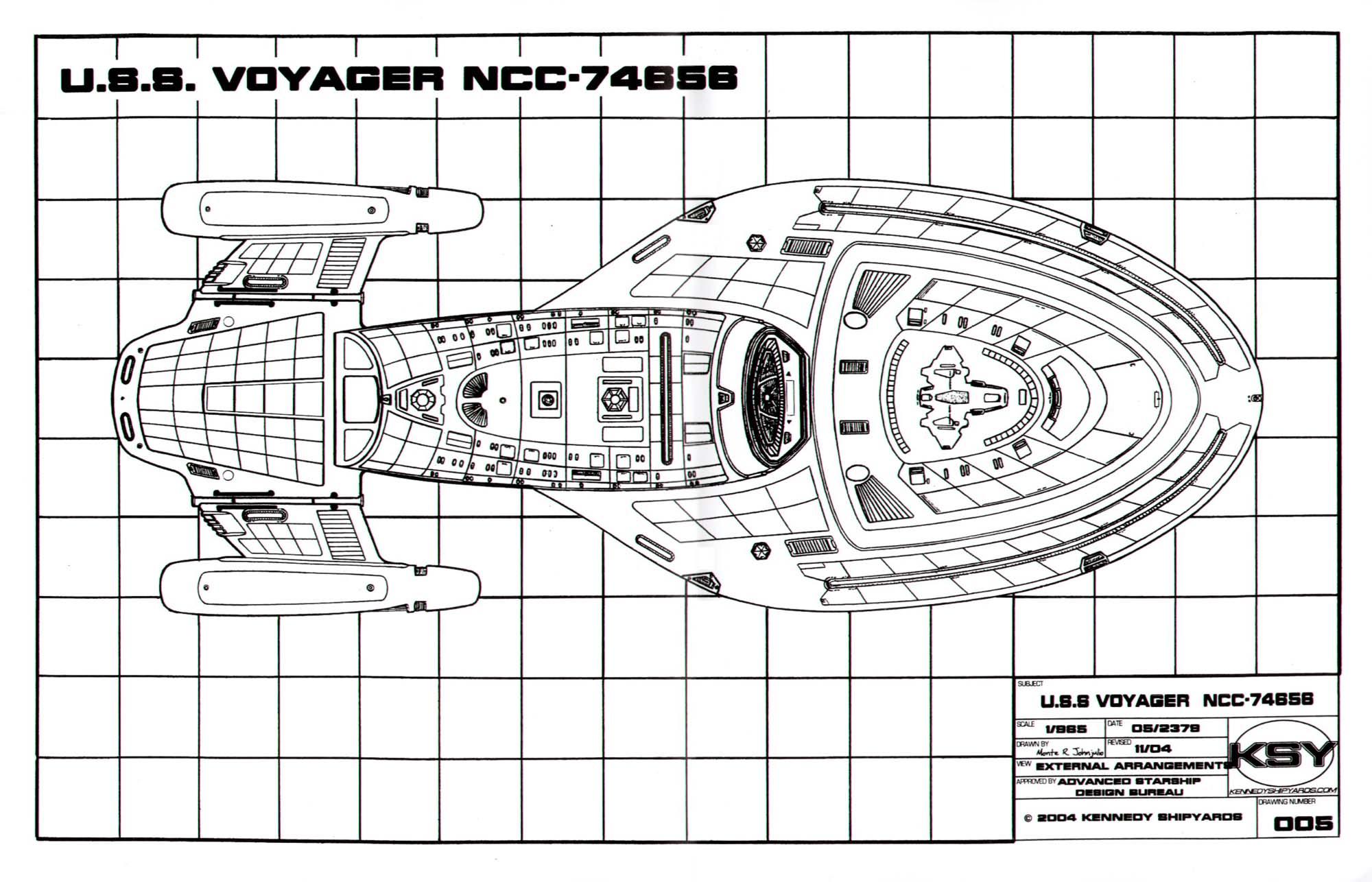 pin uss voyager blueprints copomifopa on pinterest