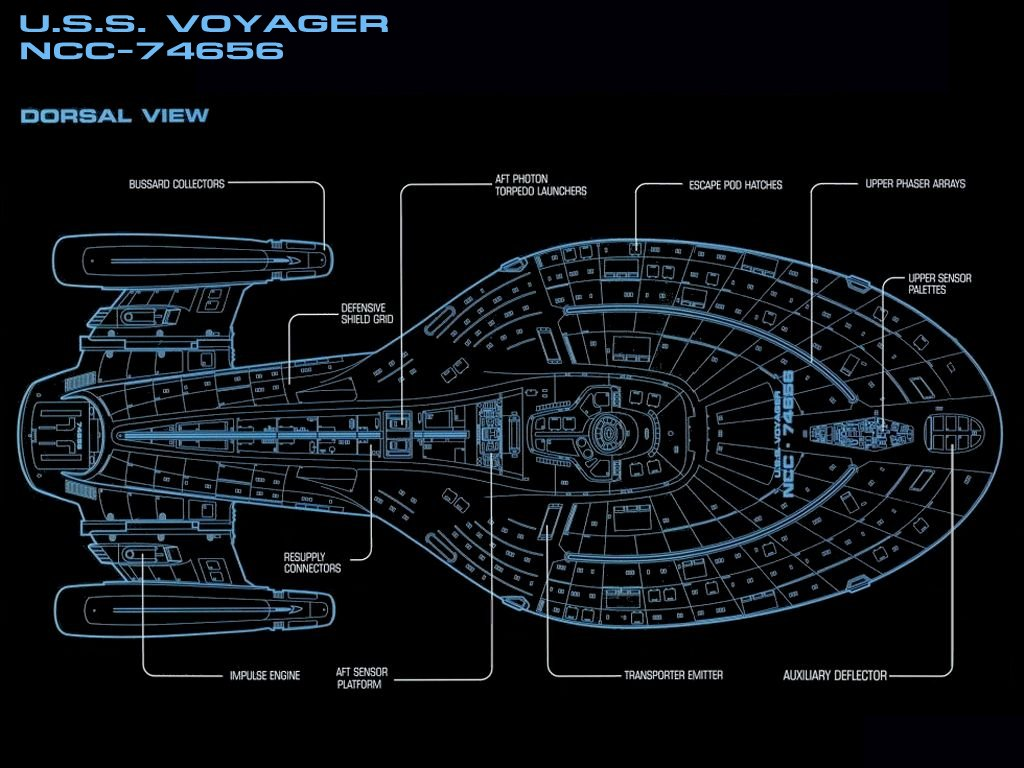 star trek voyager ship schematics  star  get free image