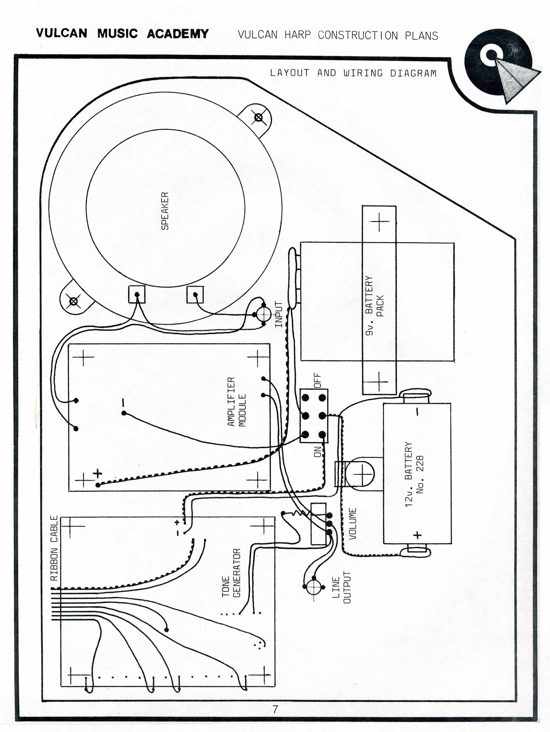 Construction Bathroom Plans star trek blueprints: vulcan harp construction plans
