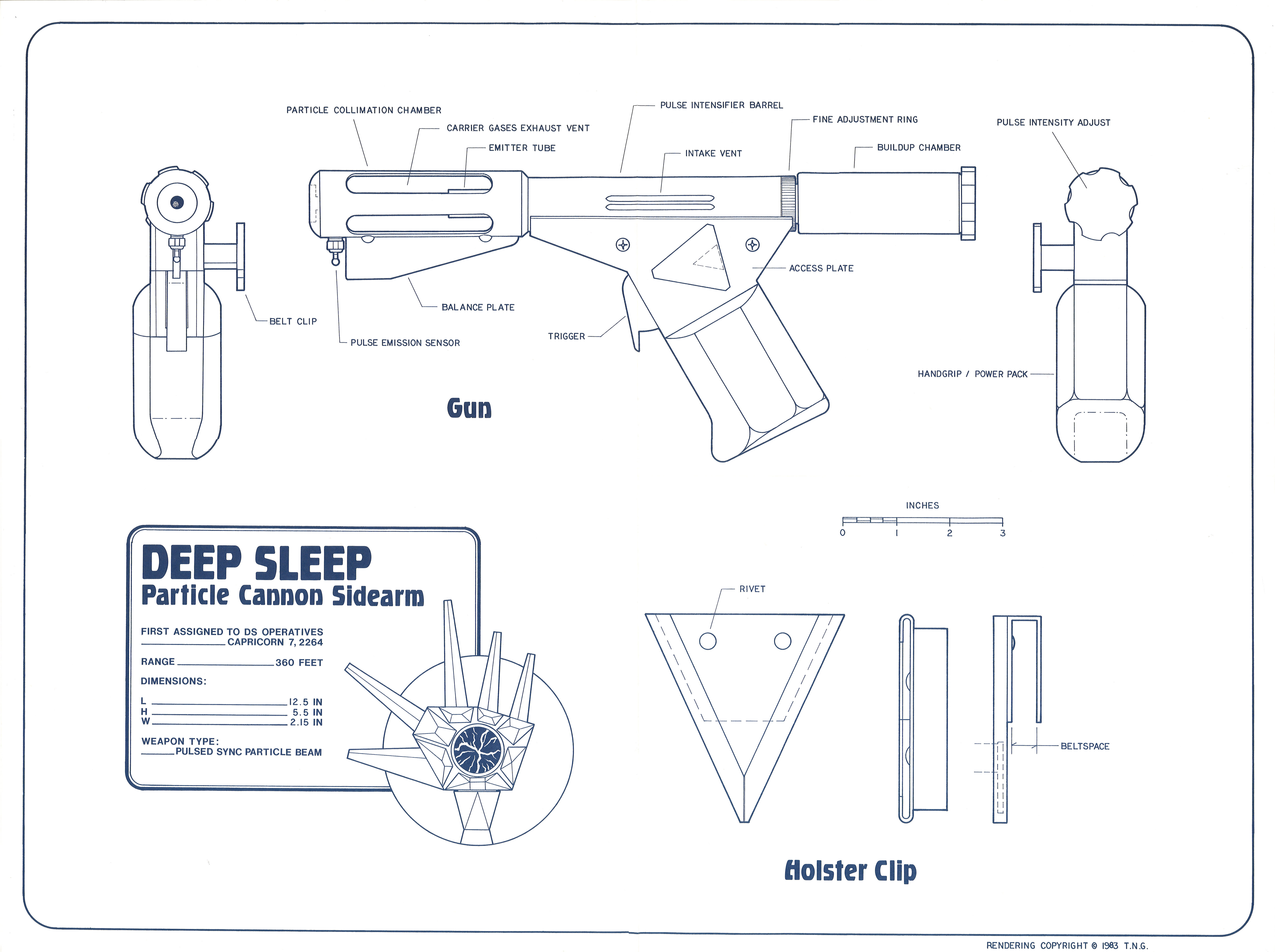 Star Trek Blueprints: Weapons and Field Equipt - 1