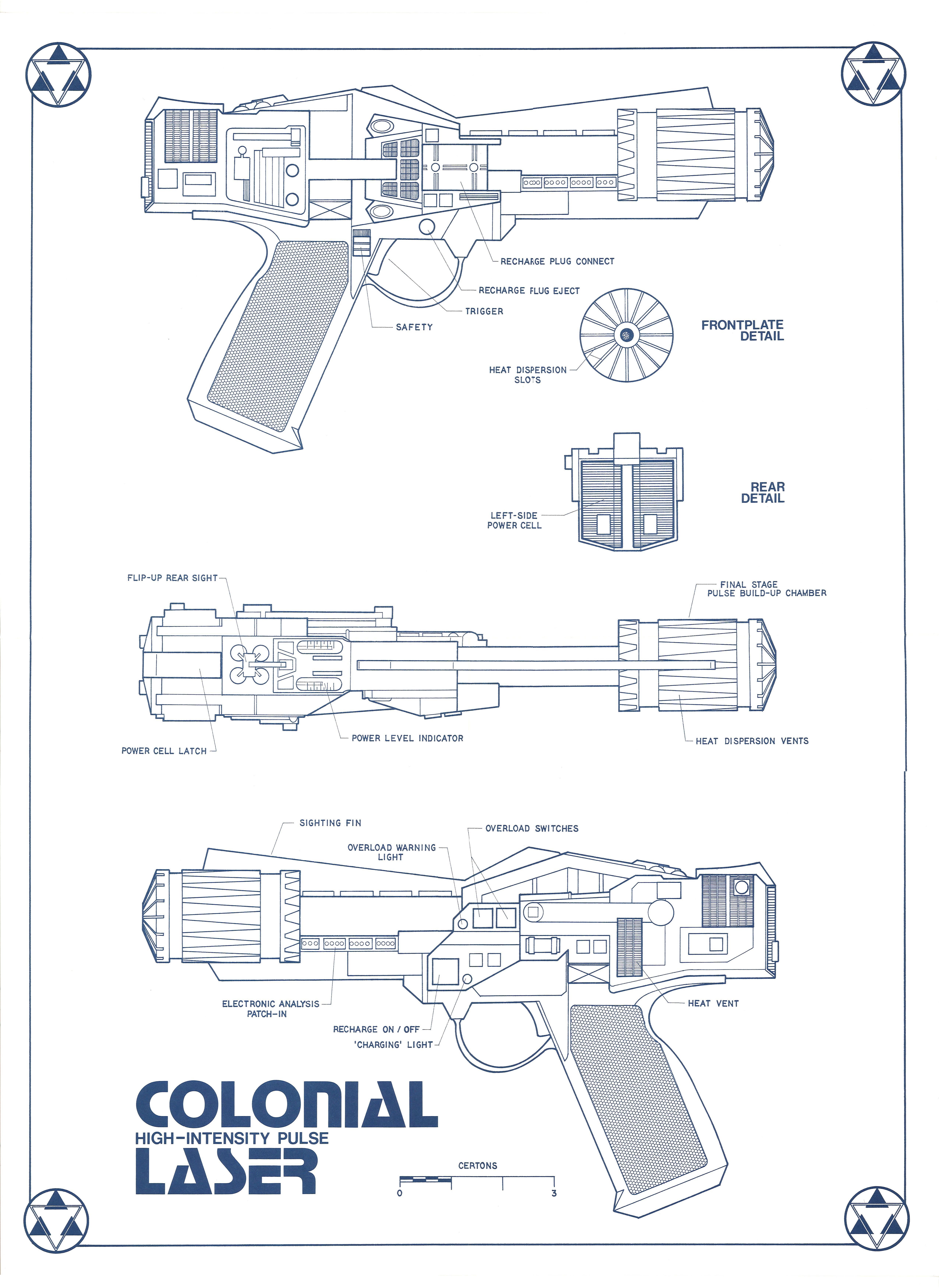 Star Trek Blueprints: Weapons and Field Equipt - 2