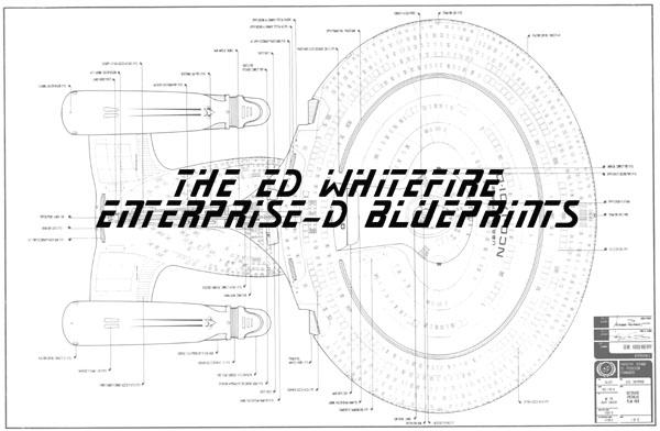 The original ed whitefire enterprise ncc 1701 d blueprints malvernweather Gallery