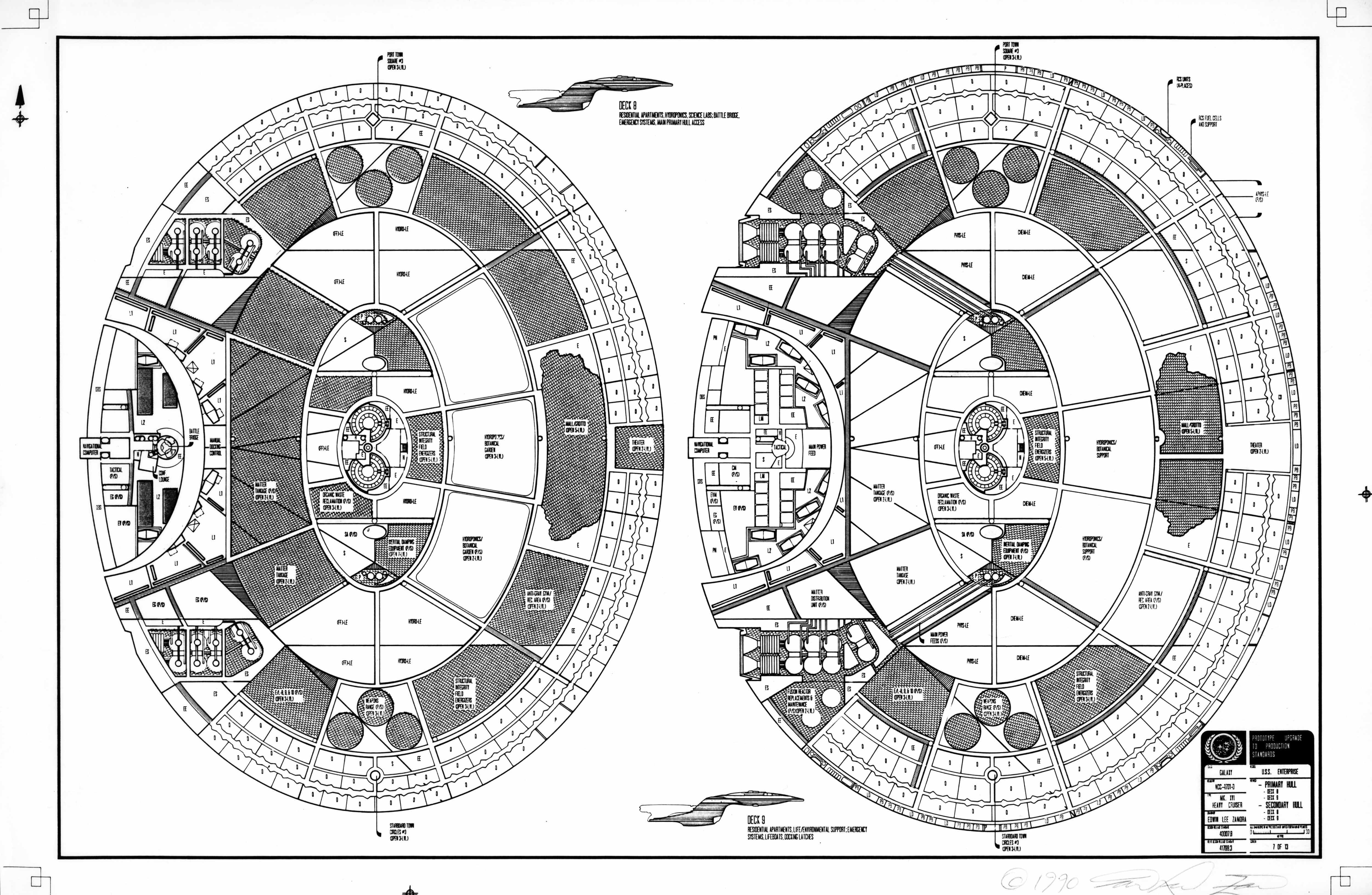 The original ed whitefire enterprise ncc 1701 d blueprints ed whitefire enterprise ncc 1701 d blueprints malvernweather Images