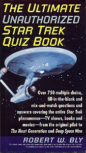The Ultimate Unauthorized Star Trek Quiz Book book cover