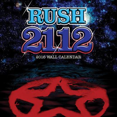Rush 2016 Wall Calendar