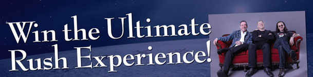 Canada's Long & McQuade's Ultimate Rush Experience Sweepstakes