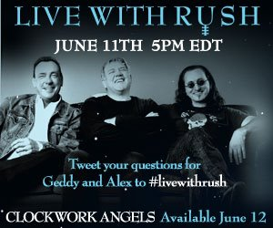 Rush In The Studio Live With Jeff Woods