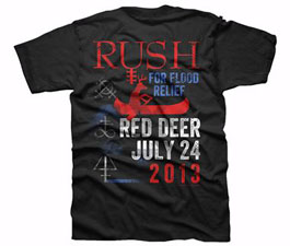 Rush Alberta Flood Benefit Concert