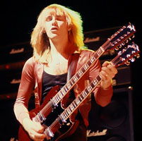 Alex Lifeson Top 100 Guitarist of All Time