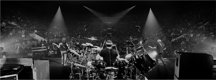 Autographed Rush R40 Prints Now Available From the Andrew MacNaughtan Art Store