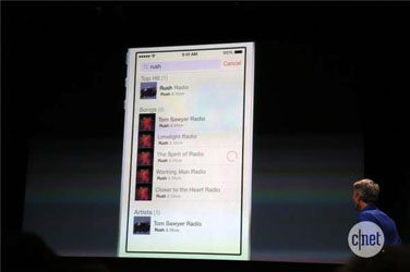 Apple's iPhone 5 Event Features Rush in iOS 7 Demonstration