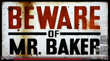 Neil Peart featured in Beward of Mr. Baker