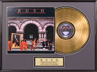 Rush Album Certification Update