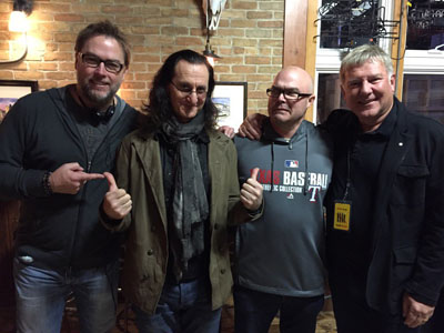 Geddy Lee and Alex Lifeson to Appear in an Episode of Chicago Fire