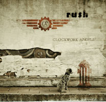 Rush Clockwork Angels Tourbook Cover